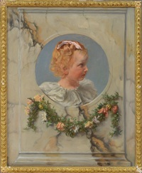 homage to a little girl by charles frederick ulrich