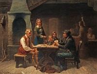 kortspelare by bengt nordenberg