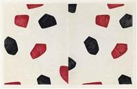samuel beckett, fizzles (foirades) (album w/33 works, text & justif.) by jasper johns