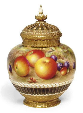 pot pourri vase and cover by harry ayrton
