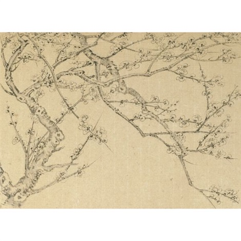 plum blossoms album w12 works by liu dan