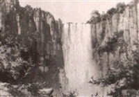 the howick falls, natal twenty-four others by joseph edward hennah
