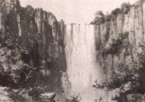 the howick falls natal twenty four others by joseph edward hennah