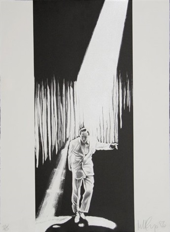 the entertainer by robert longo