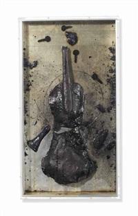 violon brûlé (violon caciné) by arman