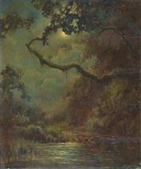 landscape by raden basoeki abdullah