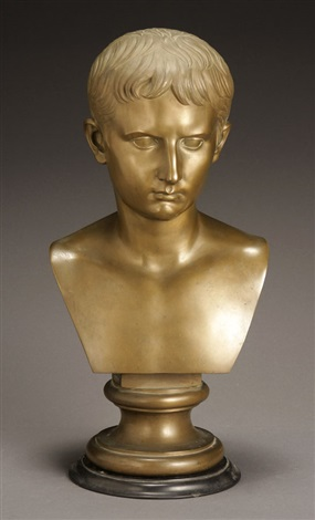 bust of emperor augustus by benedetto boschetti