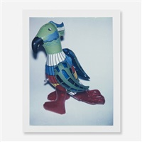 japanese toy parrot by andy warhol