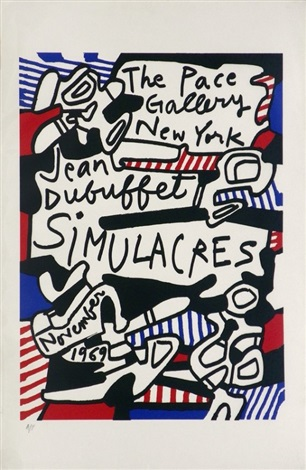 simulacres by jean dubuffet