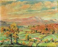 paisaje con arboles by jesús apellániz
