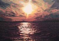 sunset by mustafa karyagdi