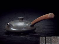 teapot by xu daming and wang xiufang