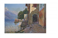 un lac by julien gustave gagliardini