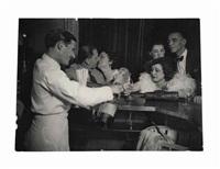 kiki in a bar in montparnasse, c. 1932 by brassaï