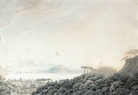the bay of naples from capodimonte by john robert cozens