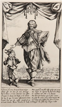 portrait de claude deruet by jacques callot