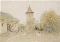 village de campagne by rudolf weber