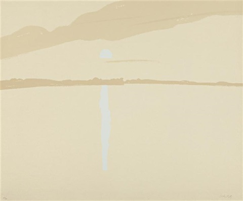 sunset lake wassernutt 3 by alex katz