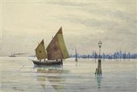 lagune und venezia by josef erwin von lippert