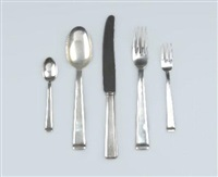schwaben tafelbesteck (set of 30) (modell-nr. 665) by josef michael lock