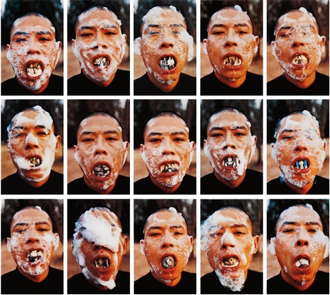 foam series 15 by zhang huan