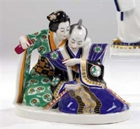 japaner im teehaus by alfred otto könig