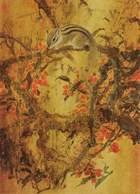 金秋 (squirrel) by lin yunnan