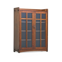 double-door bookcase by charles limbert