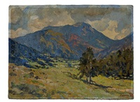 colorado landscape by wilbur g. adam