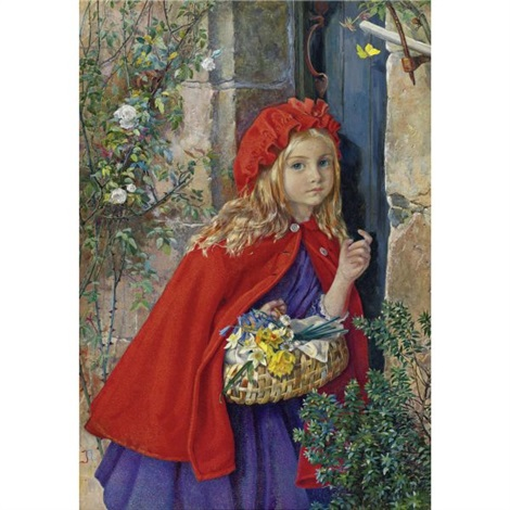 little red riding hood by isabel oakley naftel