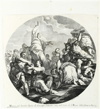 die mannales (after g. b. tiepolo) by andrea zucchi