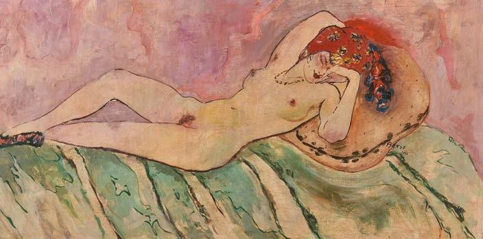 nudo femminile by leon bakst