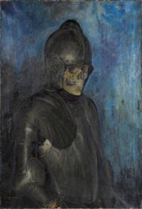 squelette en armure by a. vertongen