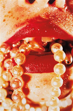 bullet by marilyn minter