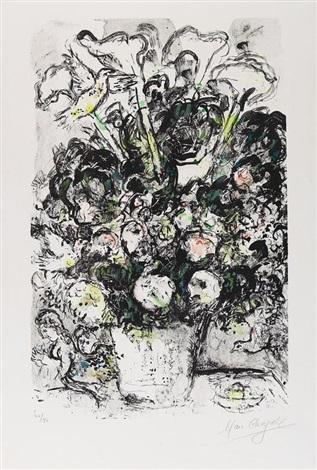 Der Weisse Blumenstrauss By Marc Chagall On Artnet