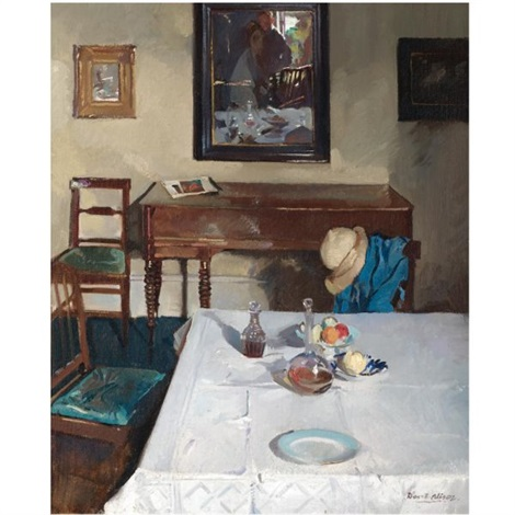the dining table by david alison