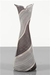 vaso della serie filigrane by dino martens