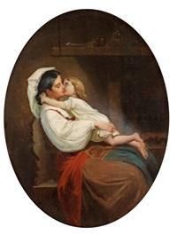 mor och barn by ferdinand fagerlin