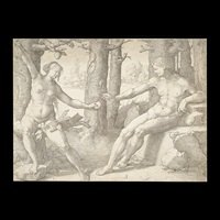 the fall of man by lucas van leyden