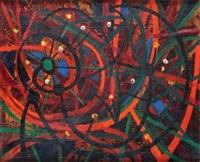 composition aux cercles by oscar domínguez