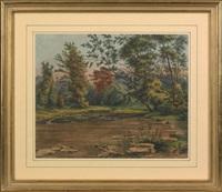 jacobs creek, somerset statn. mercer co. n.j. by augustus kollner