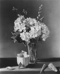 white primroses #16 by fernand renard