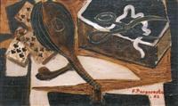 nature morte à la mandoline by felicia pacanowska