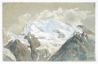 das doldenhorn (in den berner alpen) by johann wilhelm lindlar