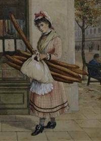 la fille du boulanger by charles henry hunt