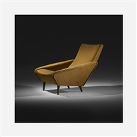 distex lounge chair, model 807 by gio ponti
