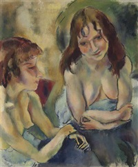 deux anglaises by jules pascin
