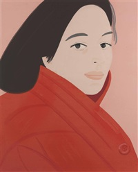 brisk day i-iii (set of 1) by alex katz