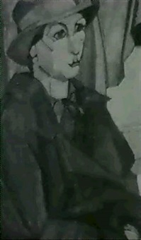 portrait of a woman by clara l. deike