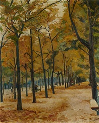les champs elysées by arthur fillon